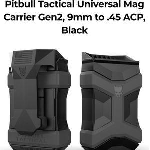 Pitbull Tactical Universal Mag Carrier Gen2, 9mm t